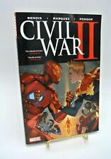 Civil War II (2017, Trade Paperback) Marvel Bendis Marquez Ponsor