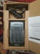 Digipower Universal Battery Charger Built In 1.0 amp USB Port TC-U450