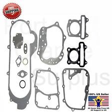 NEW COMPLETE GASKET SET GY6 49CC 5CC QMB139 MOPED SCOOTER ROKETA PEACE ICE TANK
