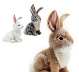 Plush & Company 15733 Peluche Coniglio Naturale Lapo  L 30 cm Rabbit Lapin