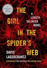 The Girl in the Spider's Web: A Lisbeth Salander novel, continuing Stieg Larsson