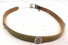 Brighton Women's Belt Size M Multicolor Suede Leather, 24300 Made in USA