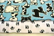 Dog Blanket Terriers Bulldogs Dachshunds Can Personalize Double Sided 28x22