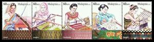 *FREE SHIP Legacy Of The Loom Malaysia 2012 Handicrafts Costumes (stamp) MNH