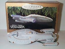 HALLMARK STAR TREK USS VOYAGER STARSHIP DISPLAY MODEL MIB