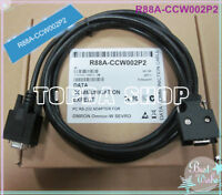 1PC OMRON R88A-CCW002P2 3m OMNUC-W Series Servo Debugging Cable Download Line#SS