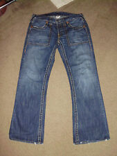 TRUE RELIGION Men's TONY BIG T 33 x 33 Easy Rider USA Made 100% cotton Jeans