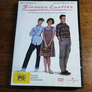 Sixteen Candles DVD R4 LIKE NEW FREE POST