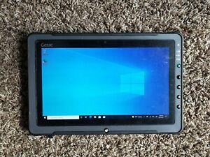 Getac F110 Ruggedized Tablet / intel i5 8GB RAM 480GB SSD Touch Screen