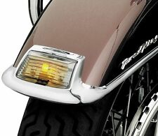 NEW Kuryakyn - 4824 - Smoke Fender Tip Lens and Bulb Kit, Front HARLEY