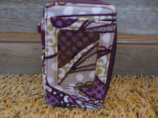 THIRTY ONE Purple Paisly ID wallet, cigarrett holder case, Bifold