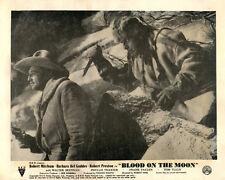 BLOOD ON THE MOON ORIGINAL LOBBY CARD ROBERT MITCHUM 1948