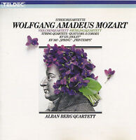 WOLFGANG AMADEUS MOZART - CD - STREICHQUARTETTE - Alban Berg Quartett