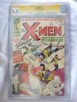 X-Men #1 (1963) CGC 6.5 (SS) Signature Series- Stan Lee Autograph 1 of 17 Signed