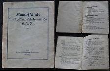 Dienstvorschrift / Kampfschule Unteroffizier Anwärter Lehrkommando 1930
