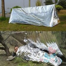 Folding Outdoor Waterproof Emergency Blanket Survival Camping Shelter Adventure
