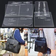 Template Tools Handbag Shoulder Bag Sewing Pattern Acrylic Clear Leather Craft