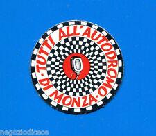 KICA - Sorprese Decalcomania Figurina-Sticker anni 60 - ALL'AUTODROMO DI MONZA 2