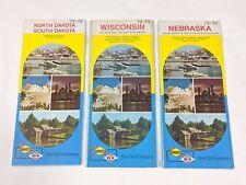 1972-73 Sunoco New York Vintage Road Map