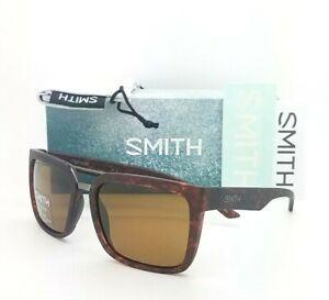 NEW Smith Highwire sunglasses Havana Chromapop Polarized Brown Mirror $169 wire