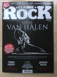 Classic Rock Magazin - Eddie Van Halen - Ausgabe 12 2020, mit CD / Thin Lizzy