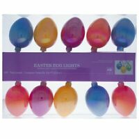 Set of 10 Easter Egg Lights