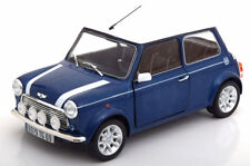 1:18 Solido Mini Cooper 1.3i Sport Pack 1997 bluemetallic/white