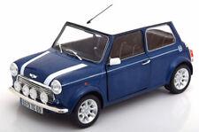 1:18 Solido MINI COOPER 1.3i Sport Pack 1997 bluemetallic/white