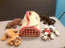 Pound Puppies Lot with Carrier
