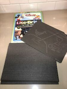 Vintage LITE BRITE 1 Picture Refill 28 Guide Sheets