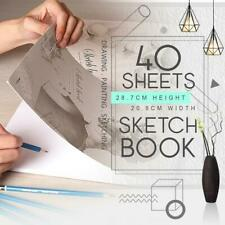 Sketch Pad 40 Sheets Artist Drawing Painting Art Paper with Thick Baseboard