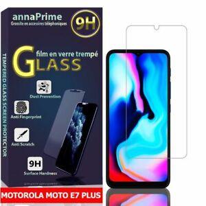 """1 Film Verre Trempé Protecteur Écran pour Motorola Moto E7 Plus 6.5"""" XT2081-1"""