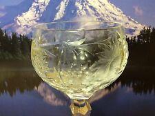 Nachtmann crystal wine glass Germany stemware dining romance kitchen art bar
