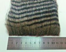 Grizzle Extra Long Pile Craft Fur, Fly Tying Material