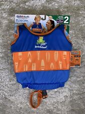 Boys Swim School 2 Piece Swim Trainer w/ Matching Swim Shorts UPF 50 Level 2