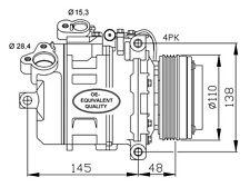 Compressore Bmw X5 E85 3.0 Diesel Dal 2004 ->