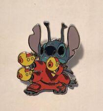 Disney Stitch Spacesuit Yellow Laser Guns Lanyard Trading Pins Lilo And Stitch