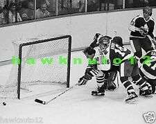 Al Secord-CHICAGO BLACKHAWKS-8 X 10-B/W PHOTO (HOCKEY)# cbw5f66e