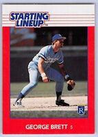 1988  GEORGE BRETT - Kenner Starting Lineup Card - KANSAS CITY ROYALS