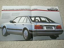 1986 AUSTRALIAN MAZDA 626 SALES BROCHURE
