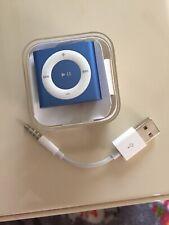 Apple iPod shuffle 4th Generation - A1373 - Blue (2GB)