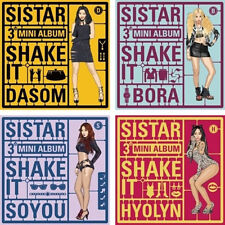 SISTAR - [SHAKE IT] 3rd Mini Album CD + Photocard Sealed K-POP SISTAR