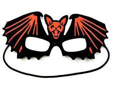 Black Red Bat Party Eye Mask Fancy Dress Halloween Costume Kid Girl Boy Children