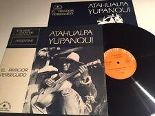 LP Atahualpa Yupanqui el Payador Perseguido Vinyl Argentine LDX 74506 OIS
