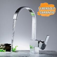 Wasserhahn Waschtischarmatur Bad Mischbatterie Hochdruck Küchenmischer AA++