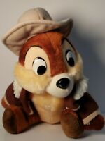 Walt Disney Chip Rescue Rangers Plush Doll Stuffed Animal Toy Disneyland Vintage