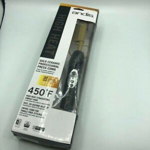 Andis 38300 High Heat Pro Press Comb Gold  Excellent Used Condition
