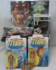 Funko Pop  box Teen Titans DC Cyborg and Starfire NEW