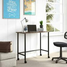 Your Zone Beckett Kids Portable Compact Space Saving Metal Rolling Writing Desk