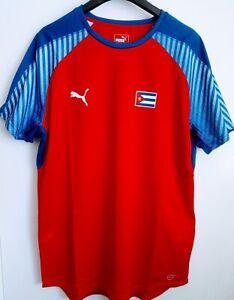"Cuba National Team Puma Home Football / Handball Shirt, Adults 46-48"" chest, XXL"